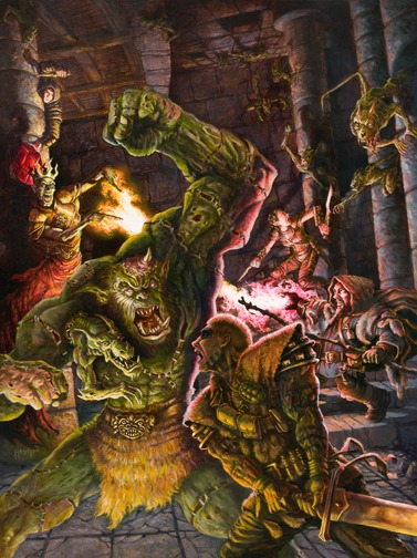 377x504 11555 last battle 2d fantasy magic monster zombie elf battle dwarf undead lich sorcerer dungeon fighter