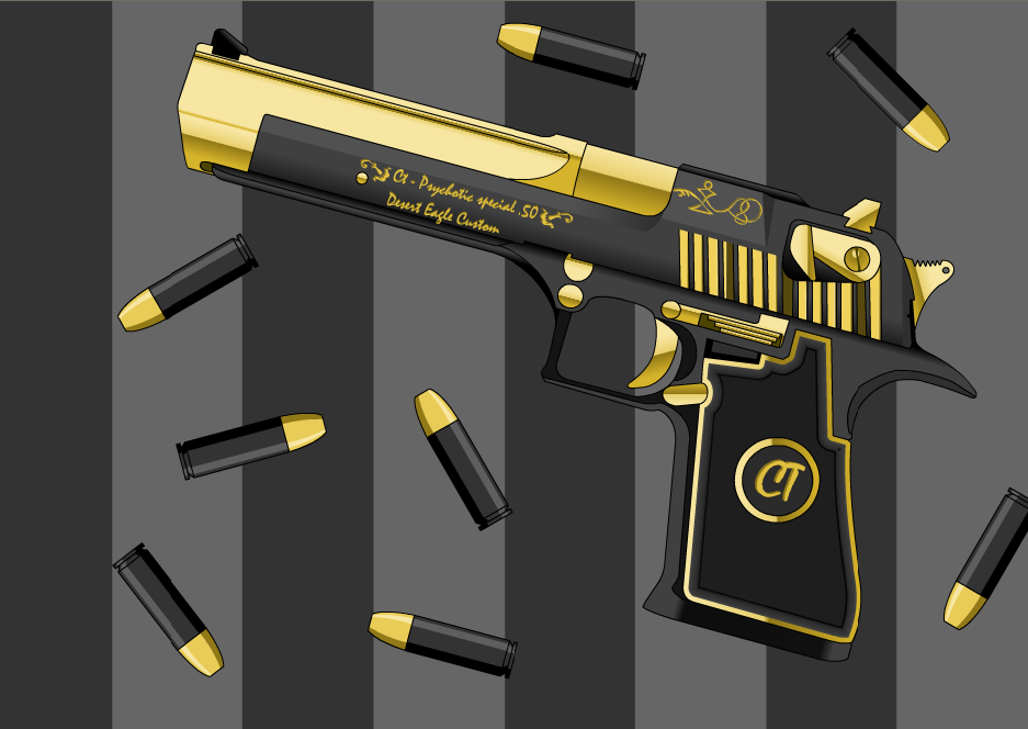Ct   desert eagle by psychotic12