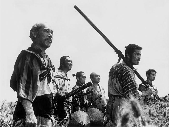 Seven samurai patrol