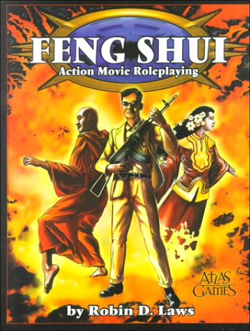 Feng shui rpg cover