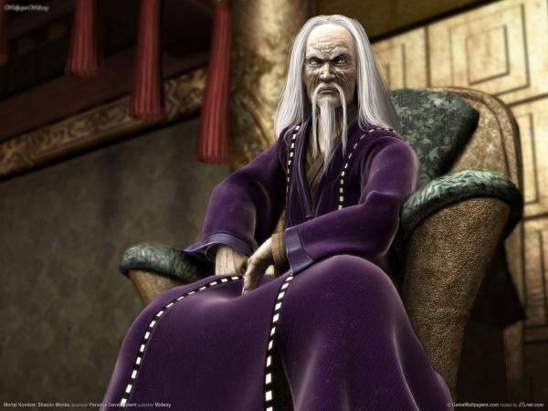 600full mortal kombat  shaolin monks artwork