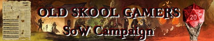 Old skool gamersd banner