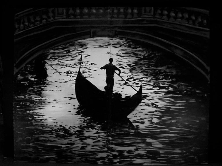 Venice  night gondola