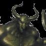 Bronze warder p