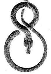 Coiled serpent