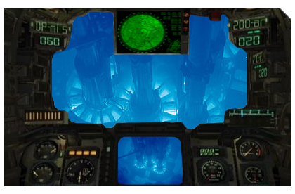 Mech in reactor