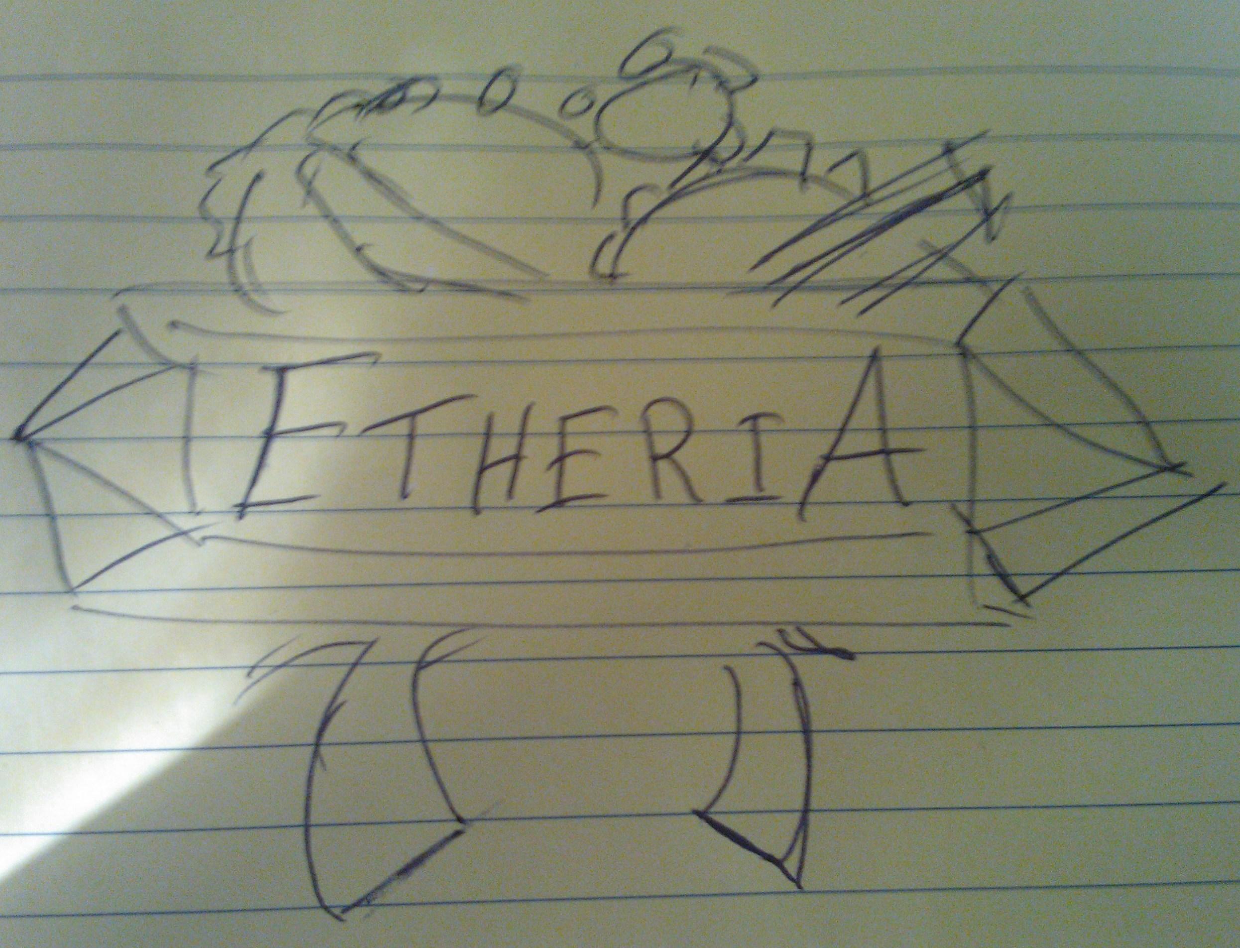 Etheria logo   croquis 1