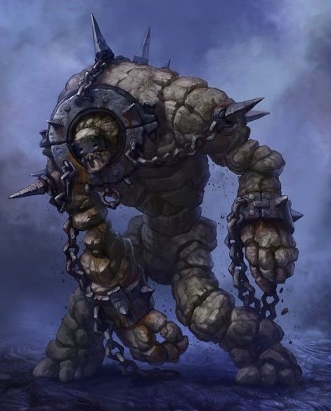 Ormic lead golem 3