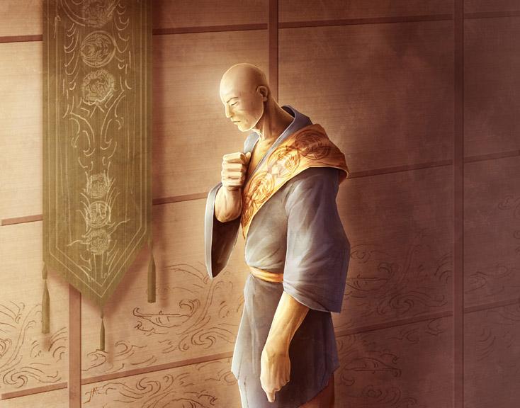 Former scorpion monk
