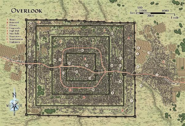 Map overlook