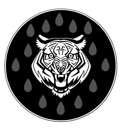 Simbolo el tigre unido copia