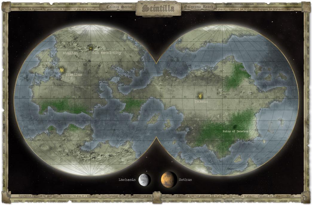 Scintilla map