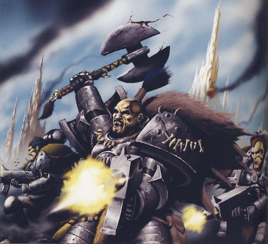 Great crusade wolves