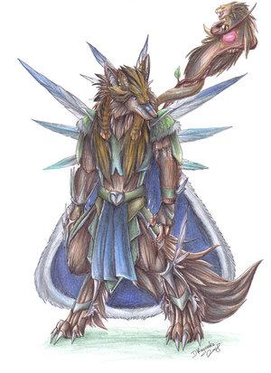 Werewolf droo by d ragonka