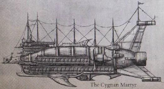 The cygnan martyr
