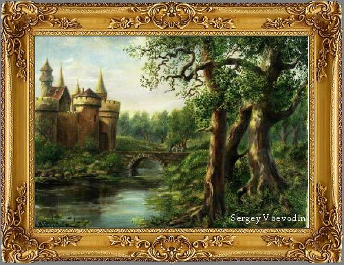 Castle in forest2