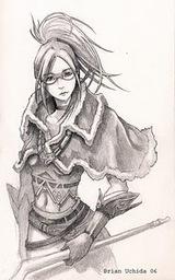 Female wizard by kuroi1nu
