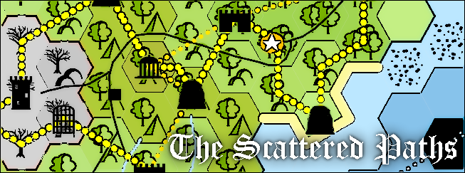 The Scattered Paths