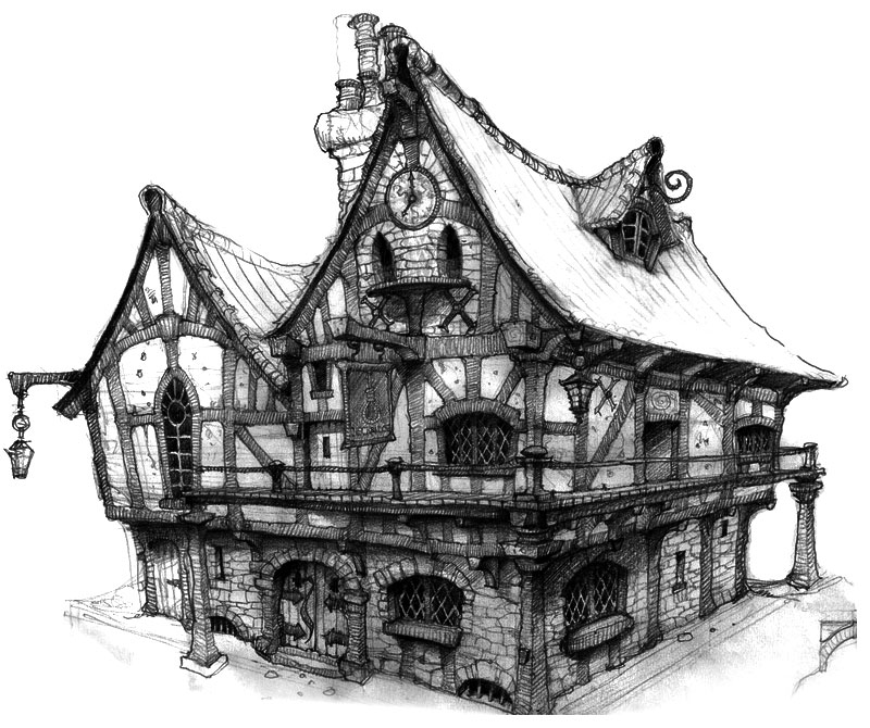 Old world tavern