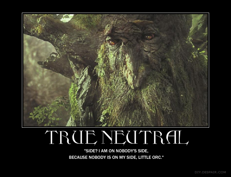 True neutral demotivational by tootiredtomakename