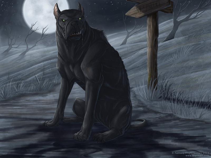 Black dog by lenorekitty d4yq1jw