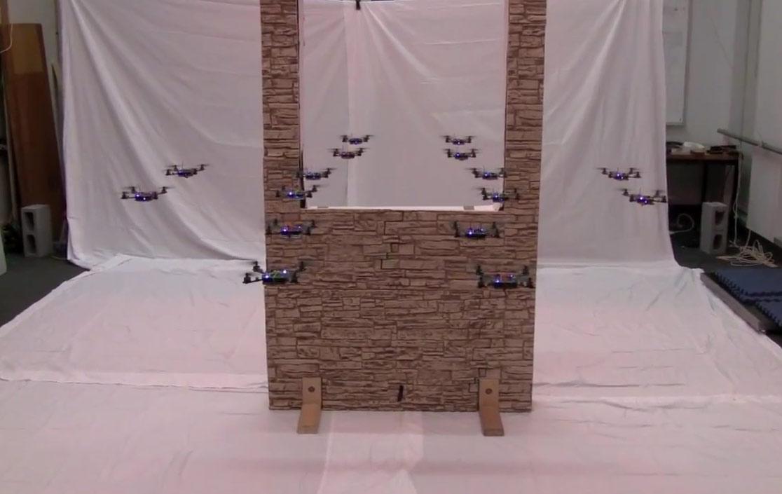 Nano quadrotor swarm 2