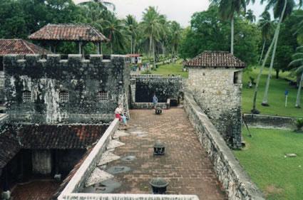 Guatemala fort caribbean coast