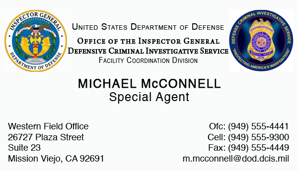 Michael s business card