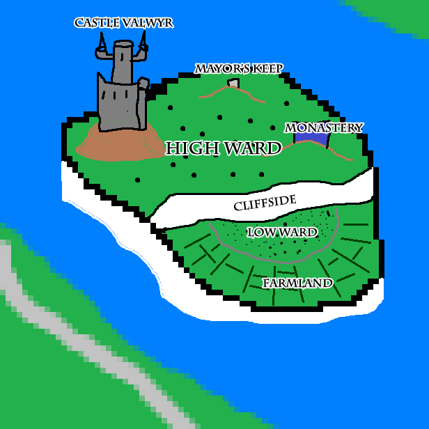 Valwyr island annotated