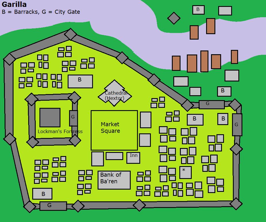 Garilla map