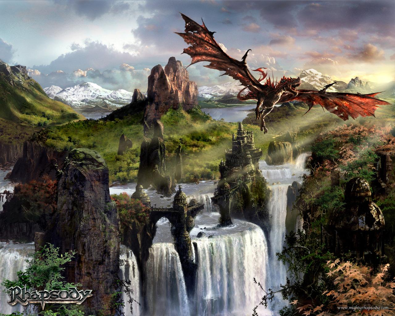 Fantasy dragon 3861