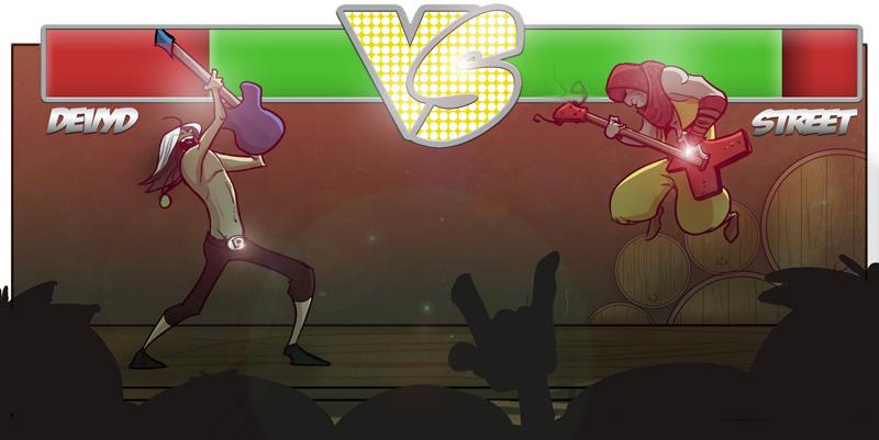 Dev vs street
