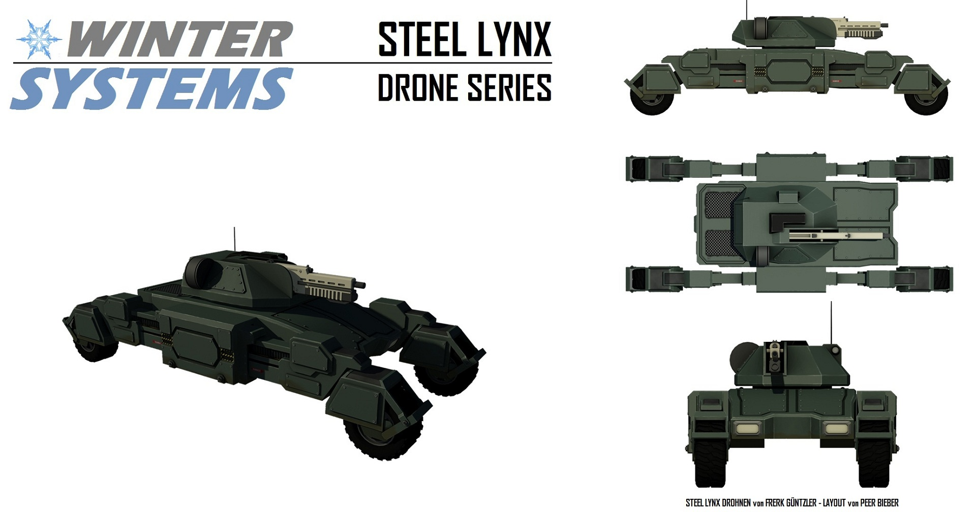 Winter systems steel lynx drone series shadowrun