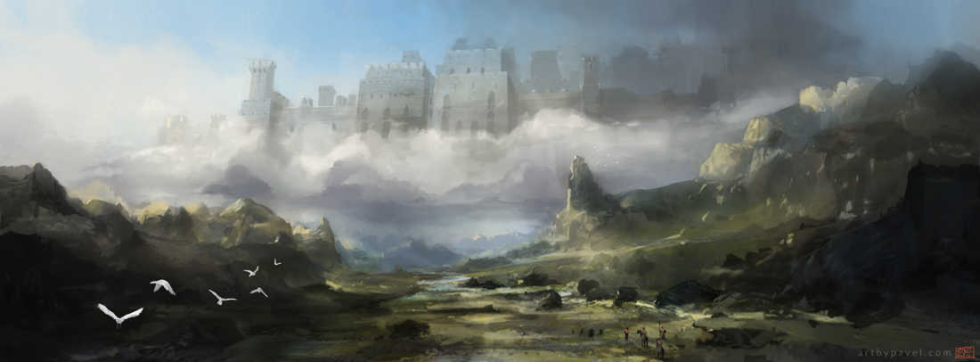Cloud castle 20408