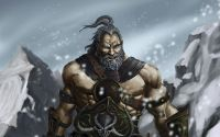 Snow barbarians npc