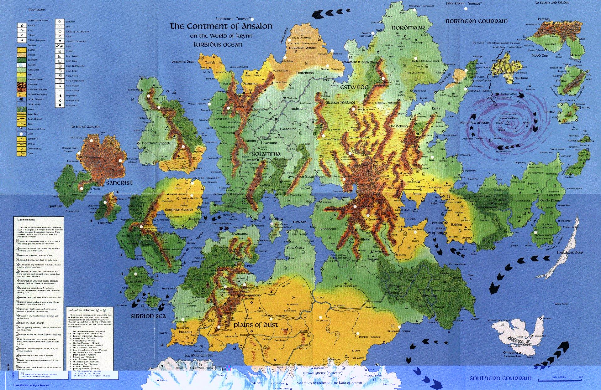 Ansalon map2
