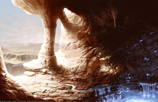 Desert cavern small