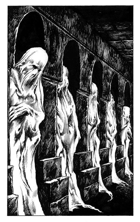 Revenge corridor of corpses
