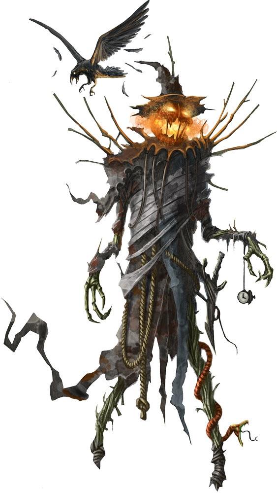 Pzo1115 scarecrow