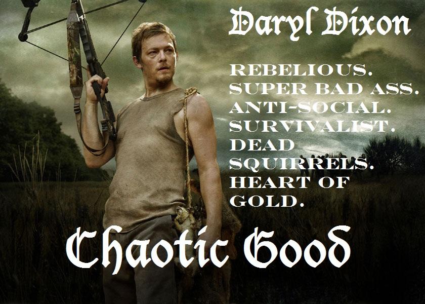 Daryl dixon chaotic good