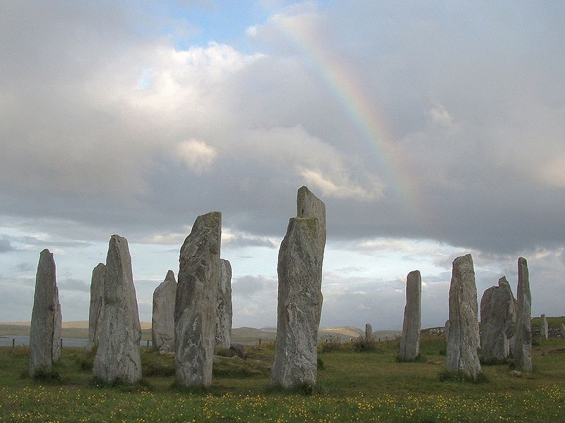 Stones at callanish