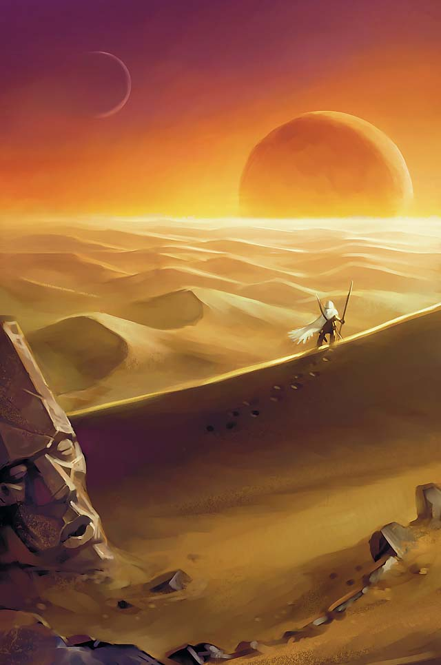 Darksun sunset