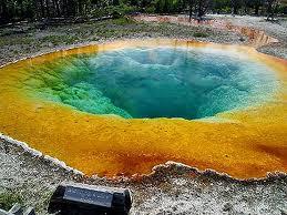 Volcanic geiser