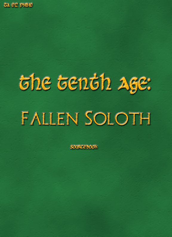 Soloth Cover