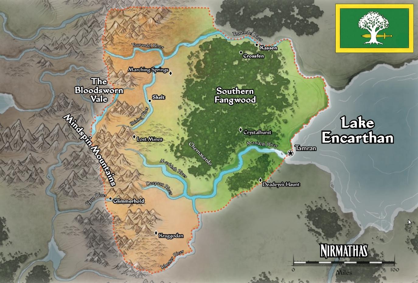 Nirmathas map