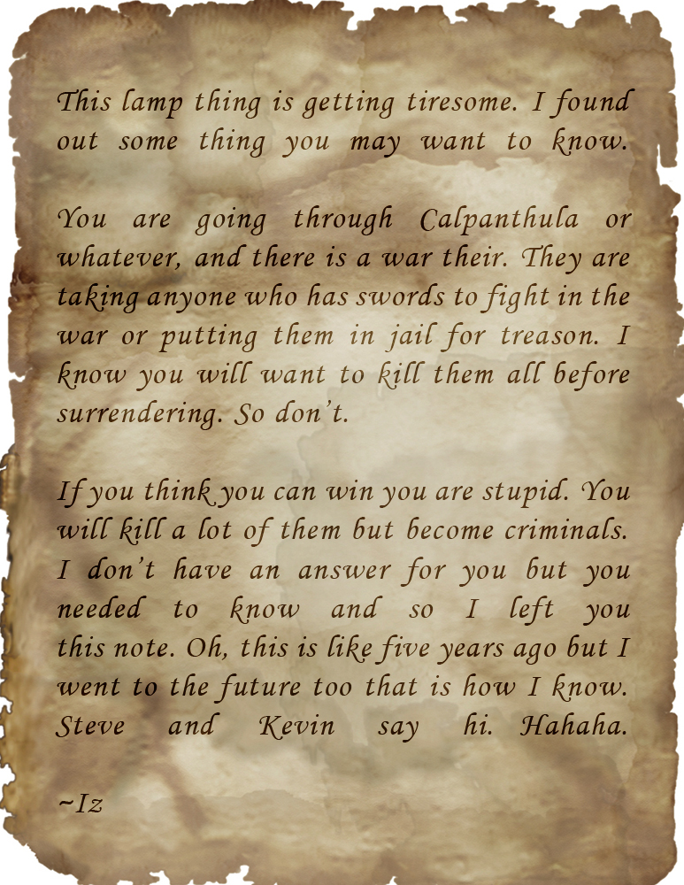 Carpathian letter from iz