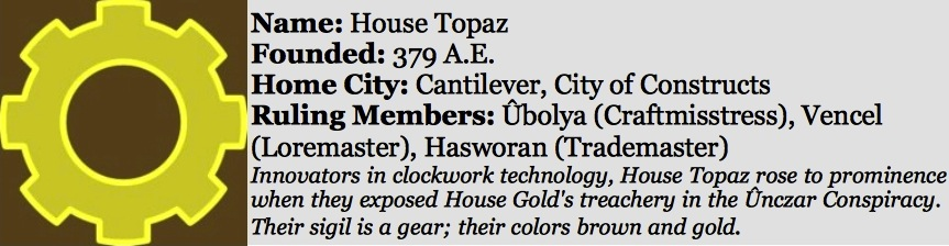House topaz sidebar