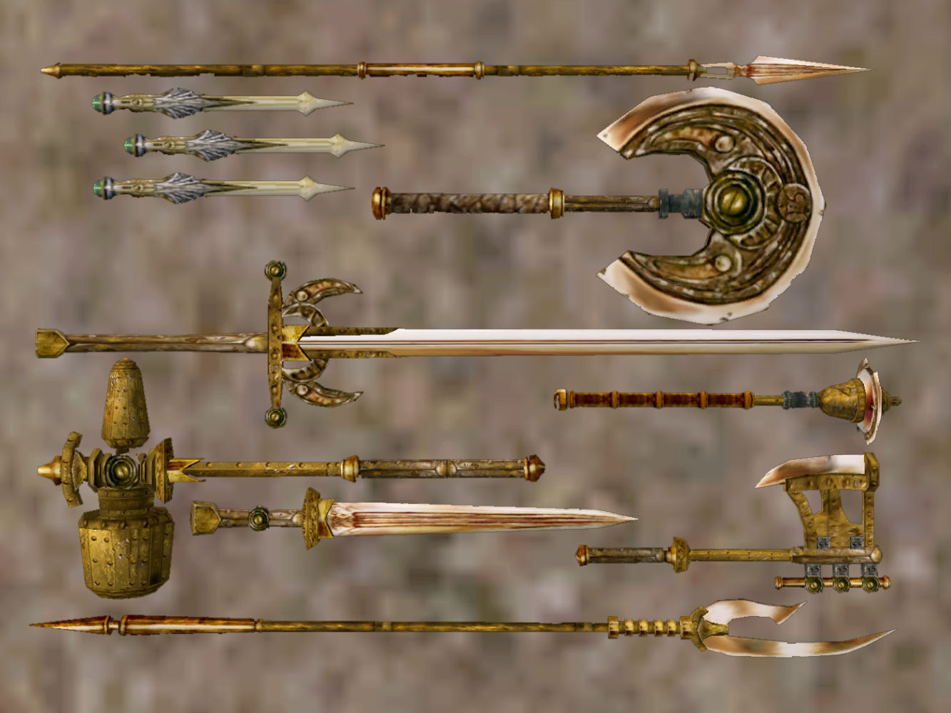 Mw dwemer weapons