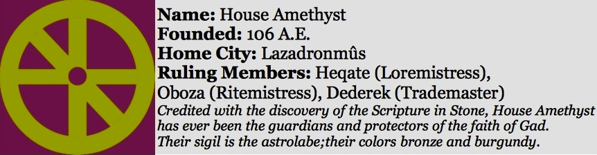 House amethyst sidebar