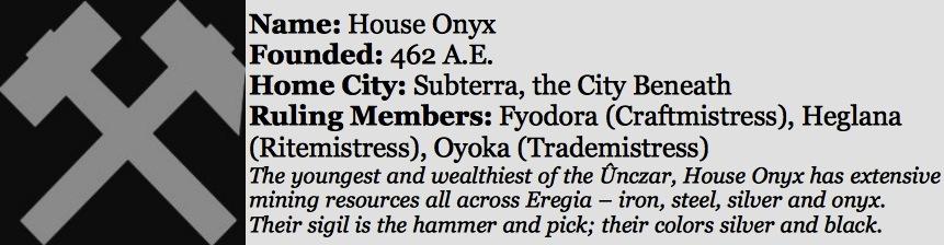House onyx sidebar